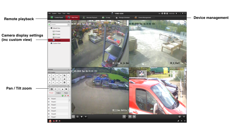 Hikvision Camera Management Software