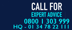 0800 1 303 999 call for expert advice
